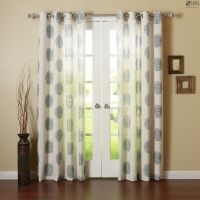 Jacquard-Curtain